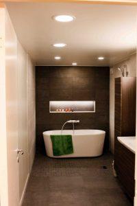 Eksempel på lys på bad