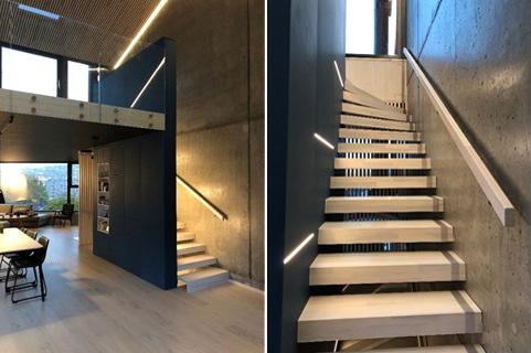 Løsninger med LED strips